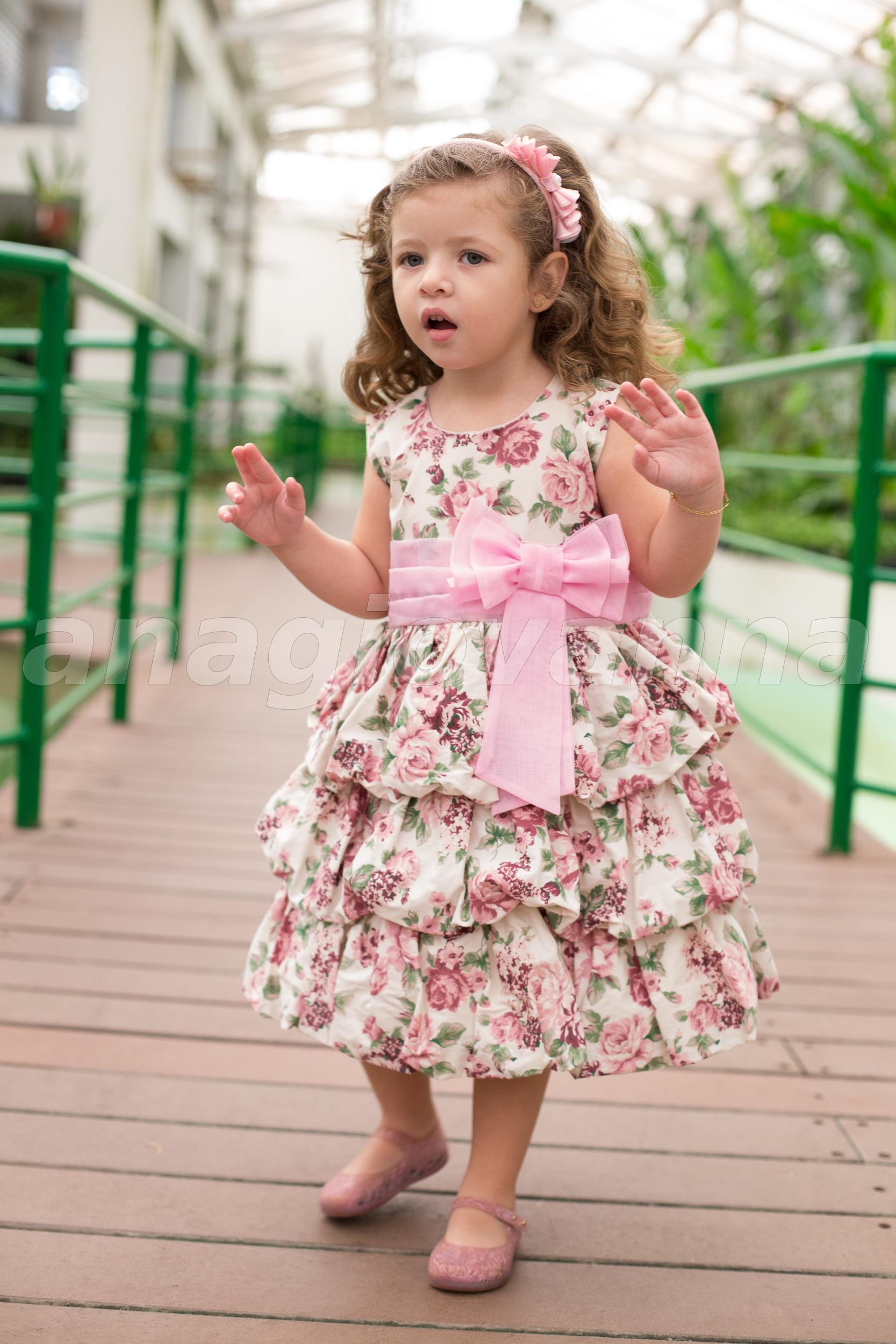 994613678 Vestido Infantil Floral Rosa no Elo7 | AnaGiovanna Vestidos Infantis  (579CCE)