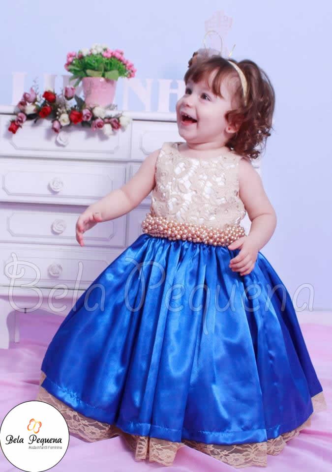 Aluguel de vestido de festa infantil
