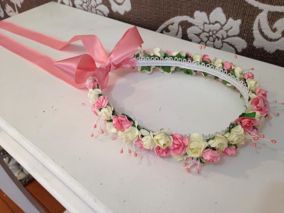Muito Coroa de flores para floristas | Casar.com | Elo7 LC84