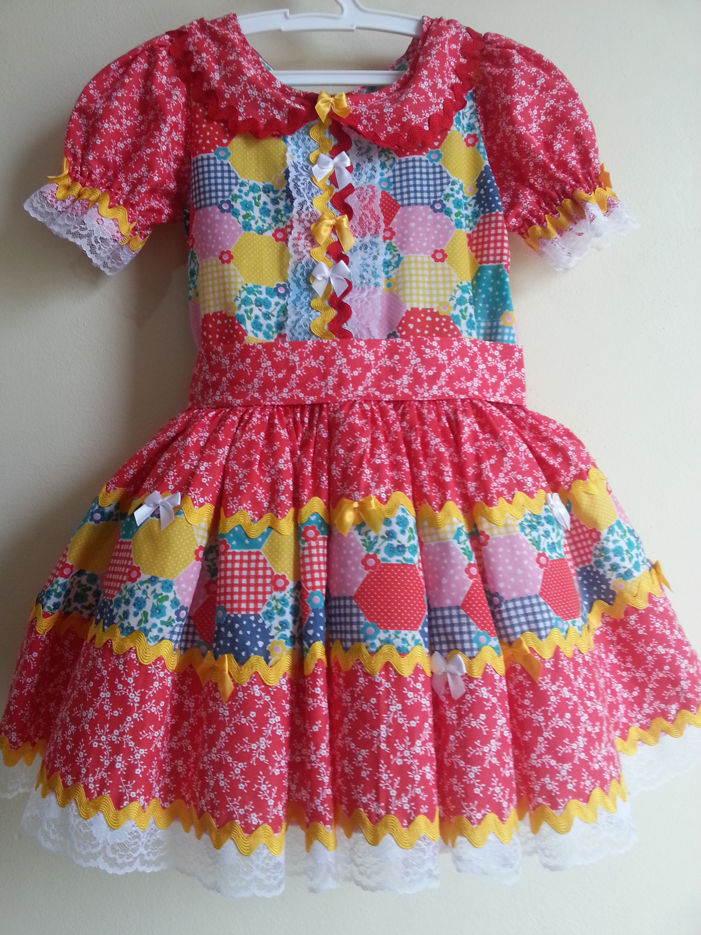 Vestidos para festa junina infantil em curitiba
