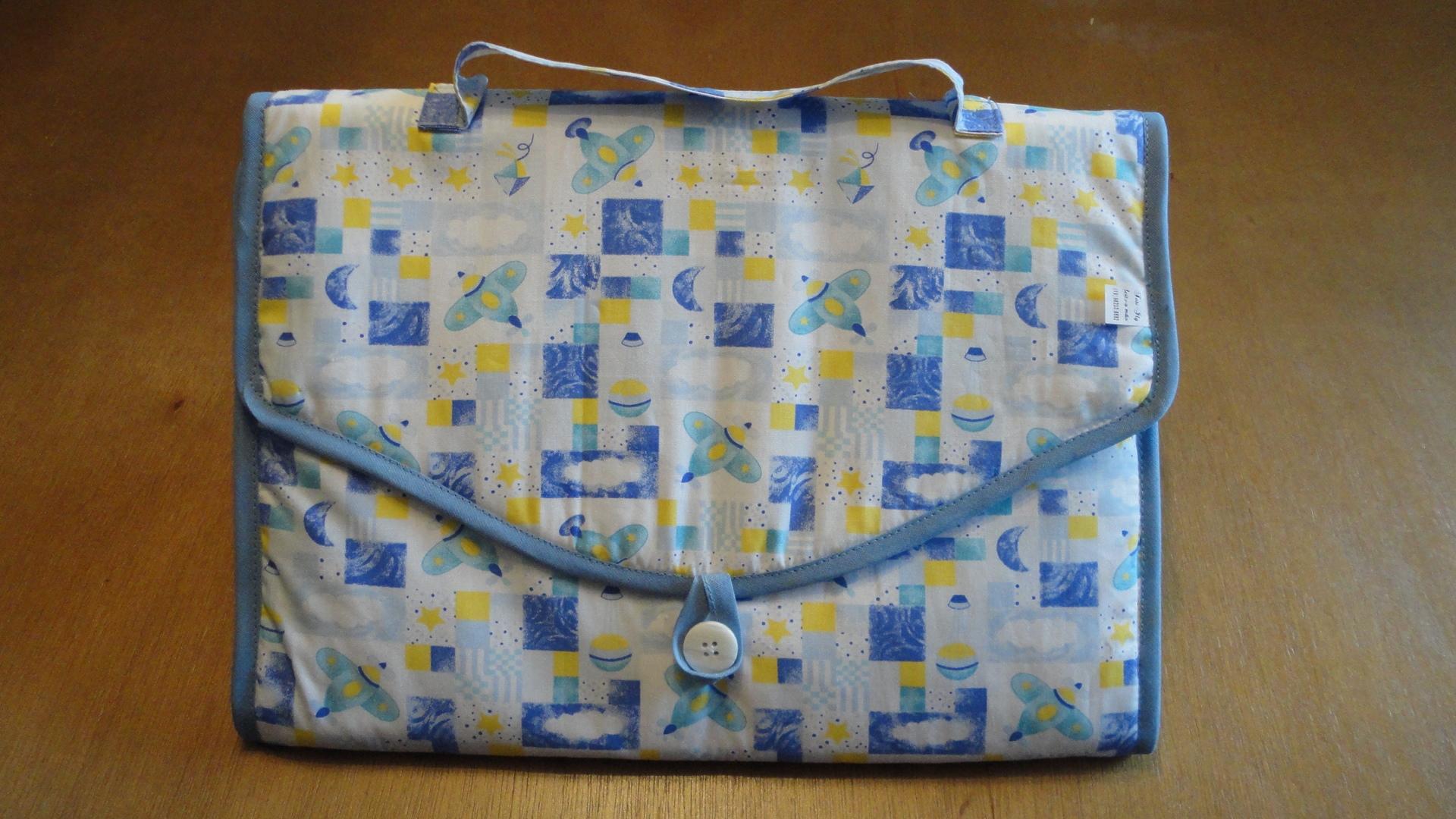 Bolsa De Mão No Avião : Bolsa trocador de fraldas menino avi?o tati ilg feito