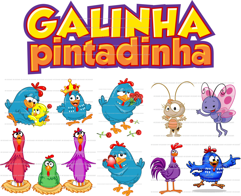 Vetores E Fotos: Galinha Pintadinha Vetores E Imagens