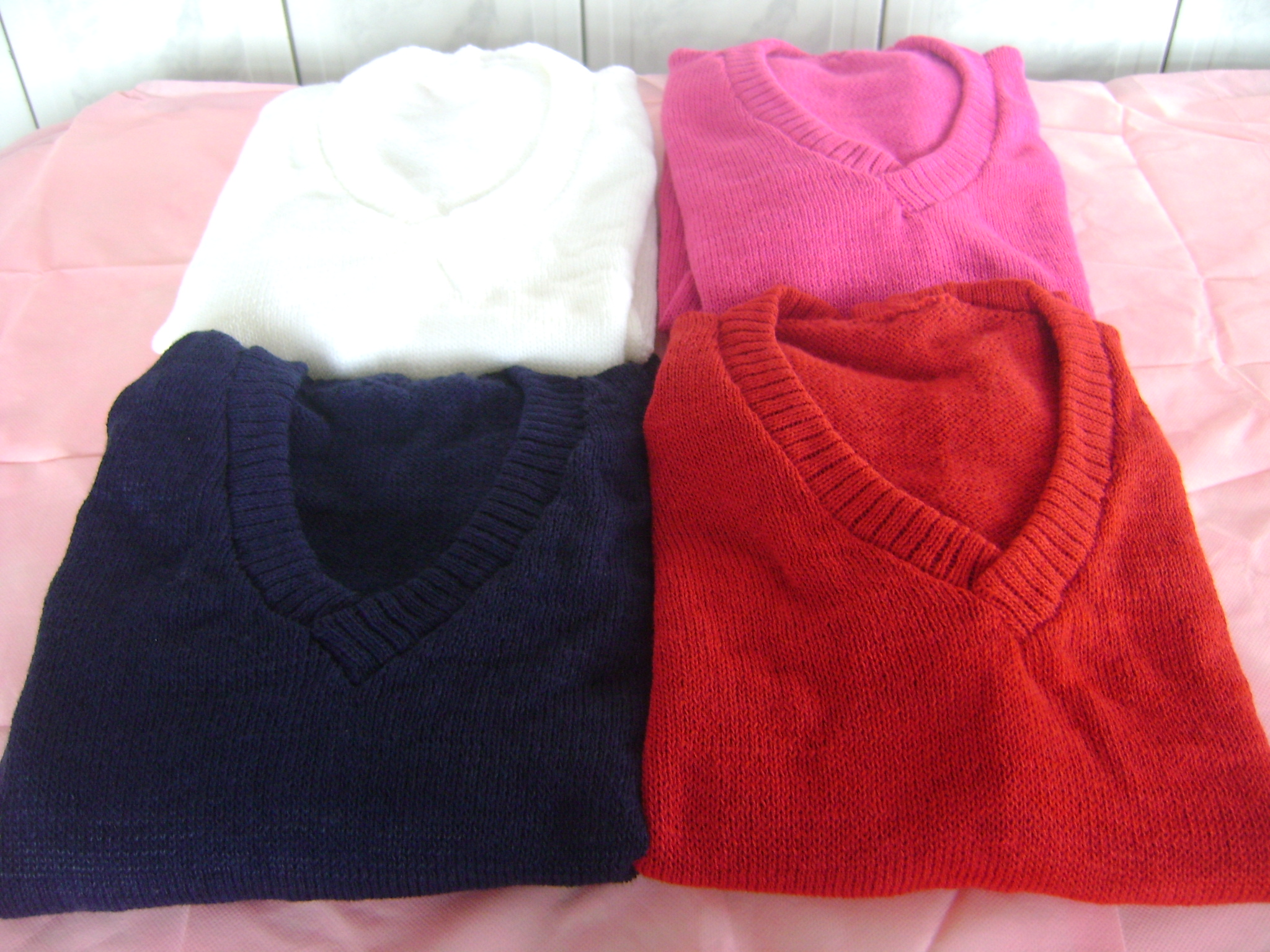 81409f630d Blusa Feminina de tricô gola V no Elo7