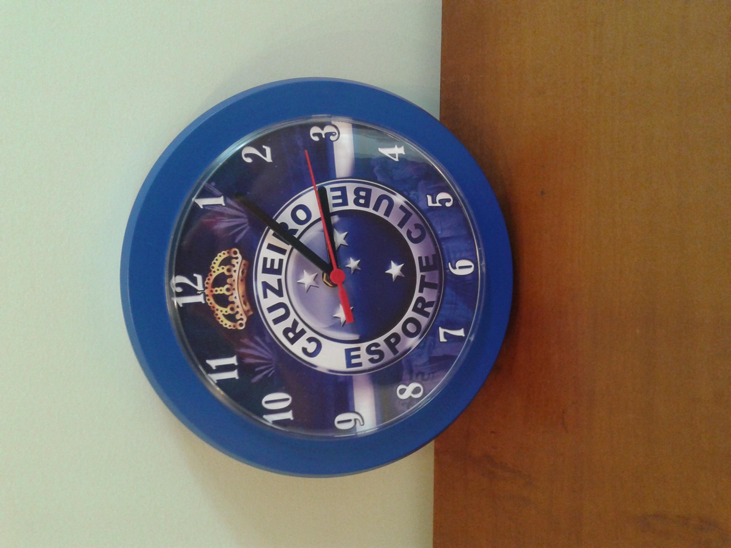 81dd68421d9 Relógio de parede clubes futebol no Elo7