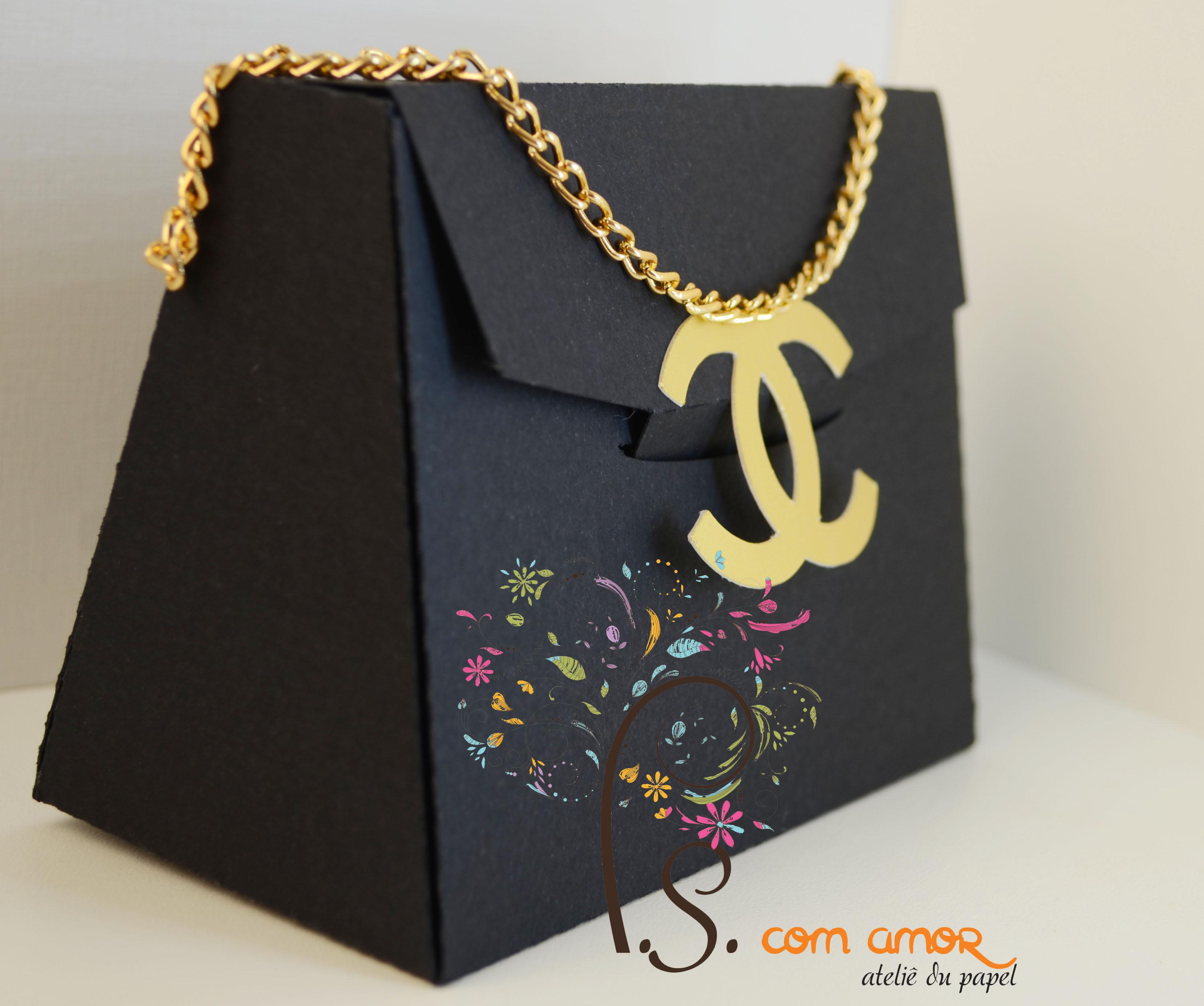 Bolsa Chanel no Elo7   P S Com Amor (595762) 8b343ccbcd