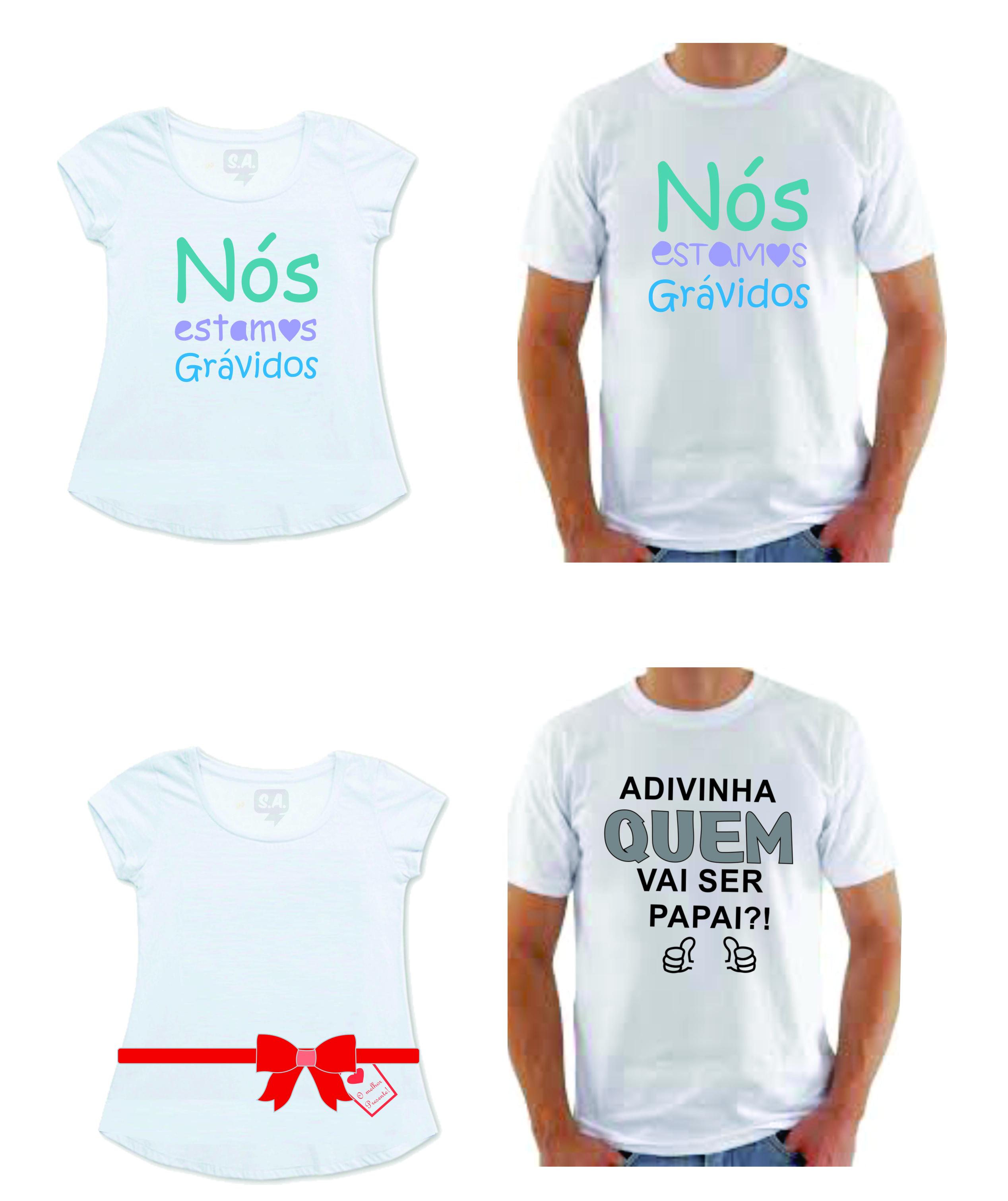 Camiseta Futuro Papai Elo7