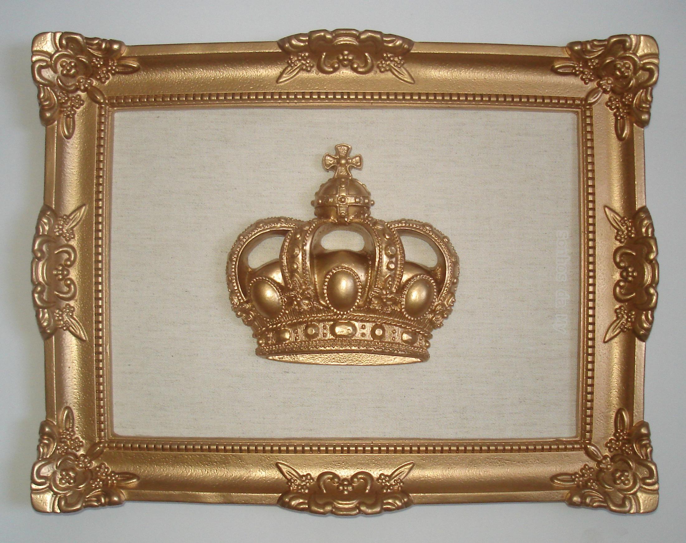Resultado de imagem para quadro moldura dourada