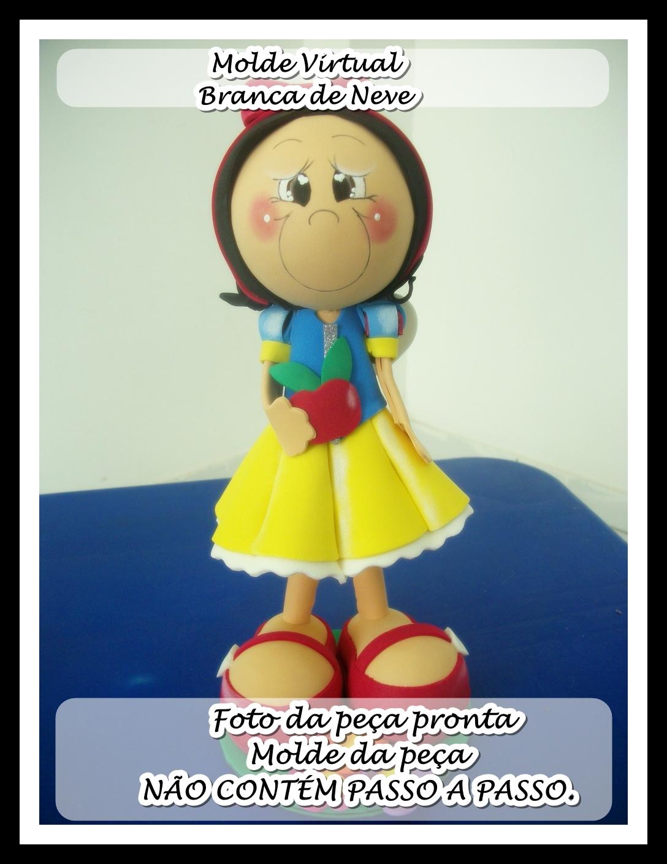 Molde Virtual Branca De Neve No Elo7 Atelier Amanda Pacheco 5a8c0d