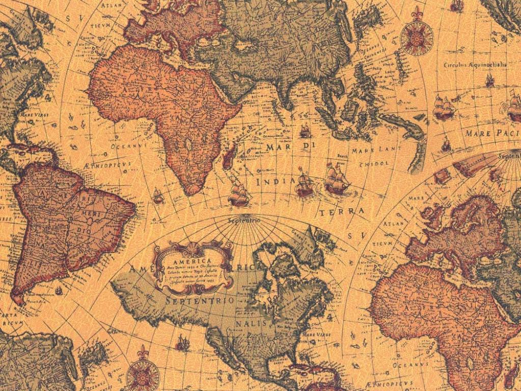 Adesivo Contact Mapa Antigo 10 Metros  Elo7