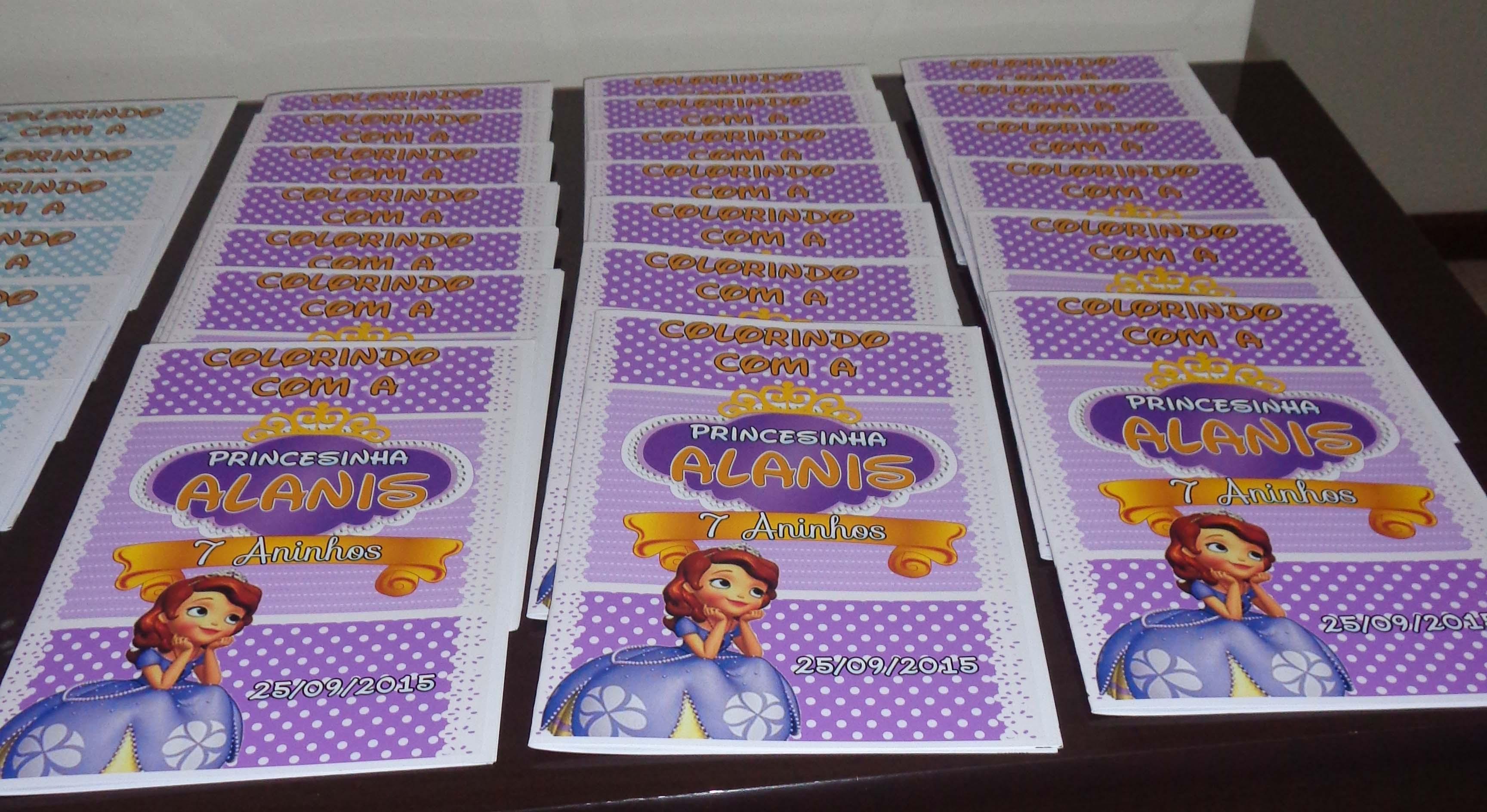 Revista Para Colorir Princesa Sofia No Elo7 Criacoes Da Thais