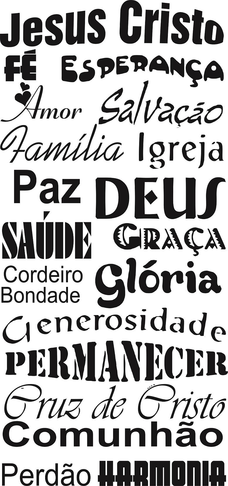 Adesivo Decorativo Frases Jesus Cristo