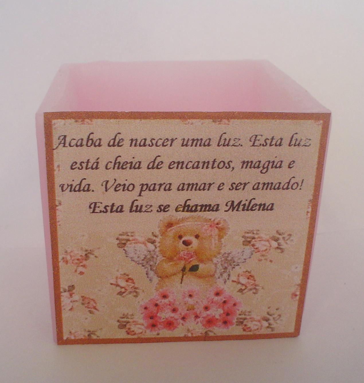 Favoritos kit 10 velas Lembrancinha de bebê ou maternidade no Elo7 | Velas  MU44