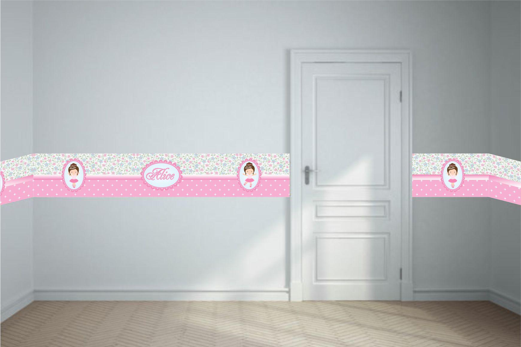 Adesivo Faixa Border Alice Print Design e  ~ Adesivo De Parede Para Quarto De Bebe Aliexpress