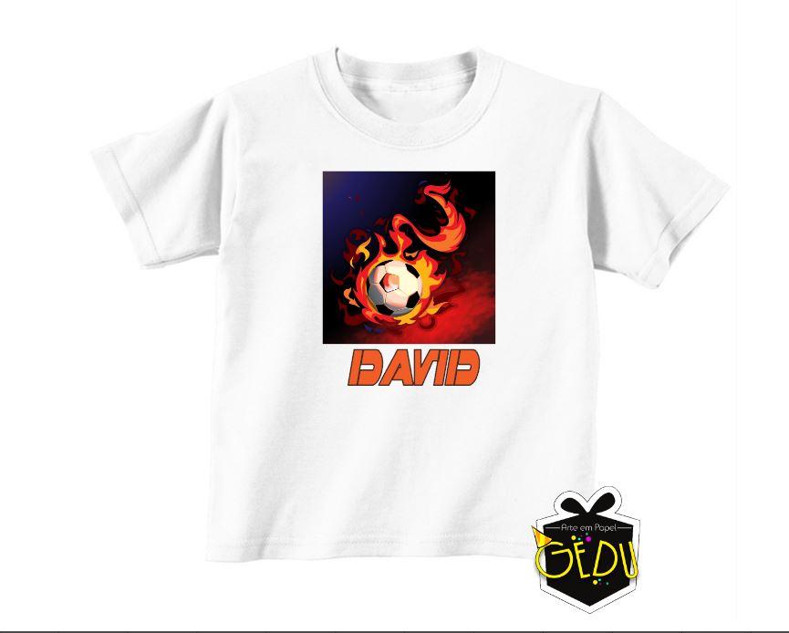 Camiseta Futebol Infantil Personalizada  3b5c4362dfa31