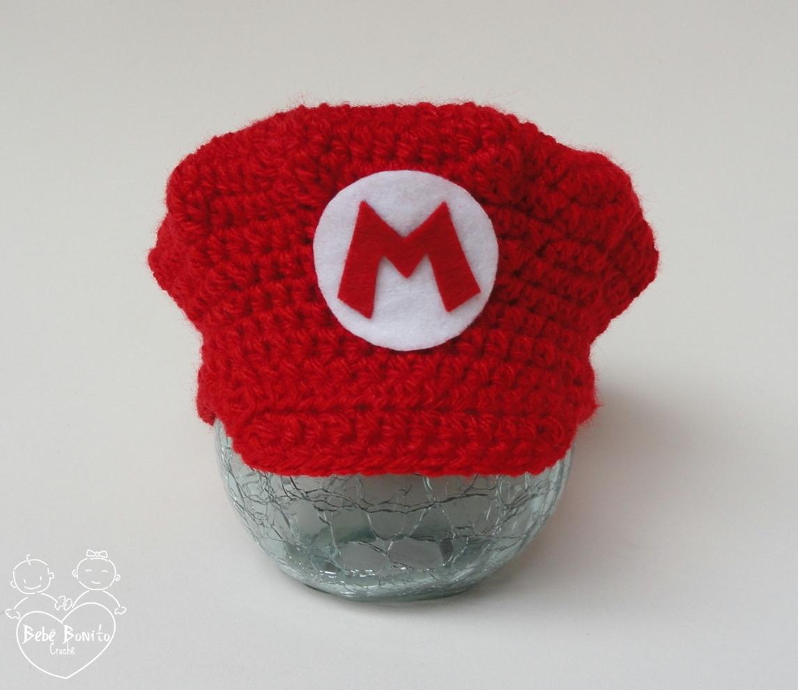 Boina em crochê Super Mario Bros. no Elo7  ca5eb2938a9