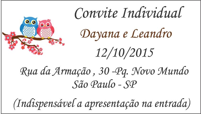 Convite Individual No Elo7 Jucy Convites 5bed8c