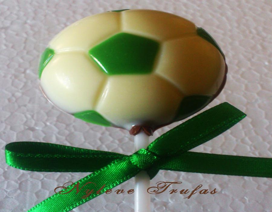 0a4f7b93a Trufa de Chocolate Bola de Futebol