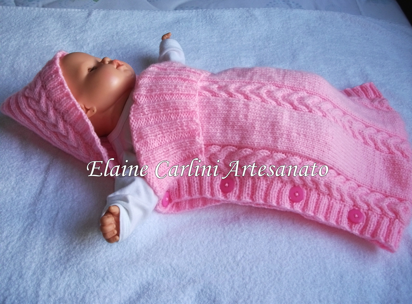 c22e85340369 Saco de dormir bebê no Elo7 | Elaine Carlini (237218)