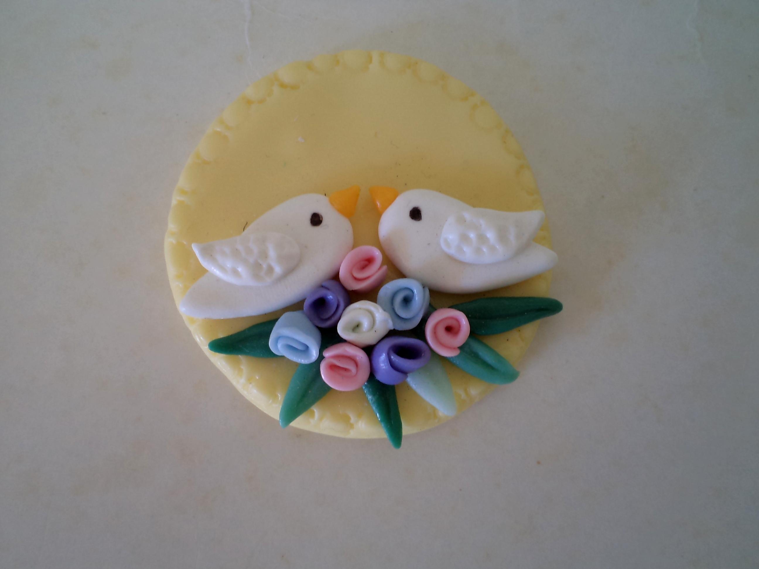 Fotos de lembrancinhas de biscuit para casamento 10