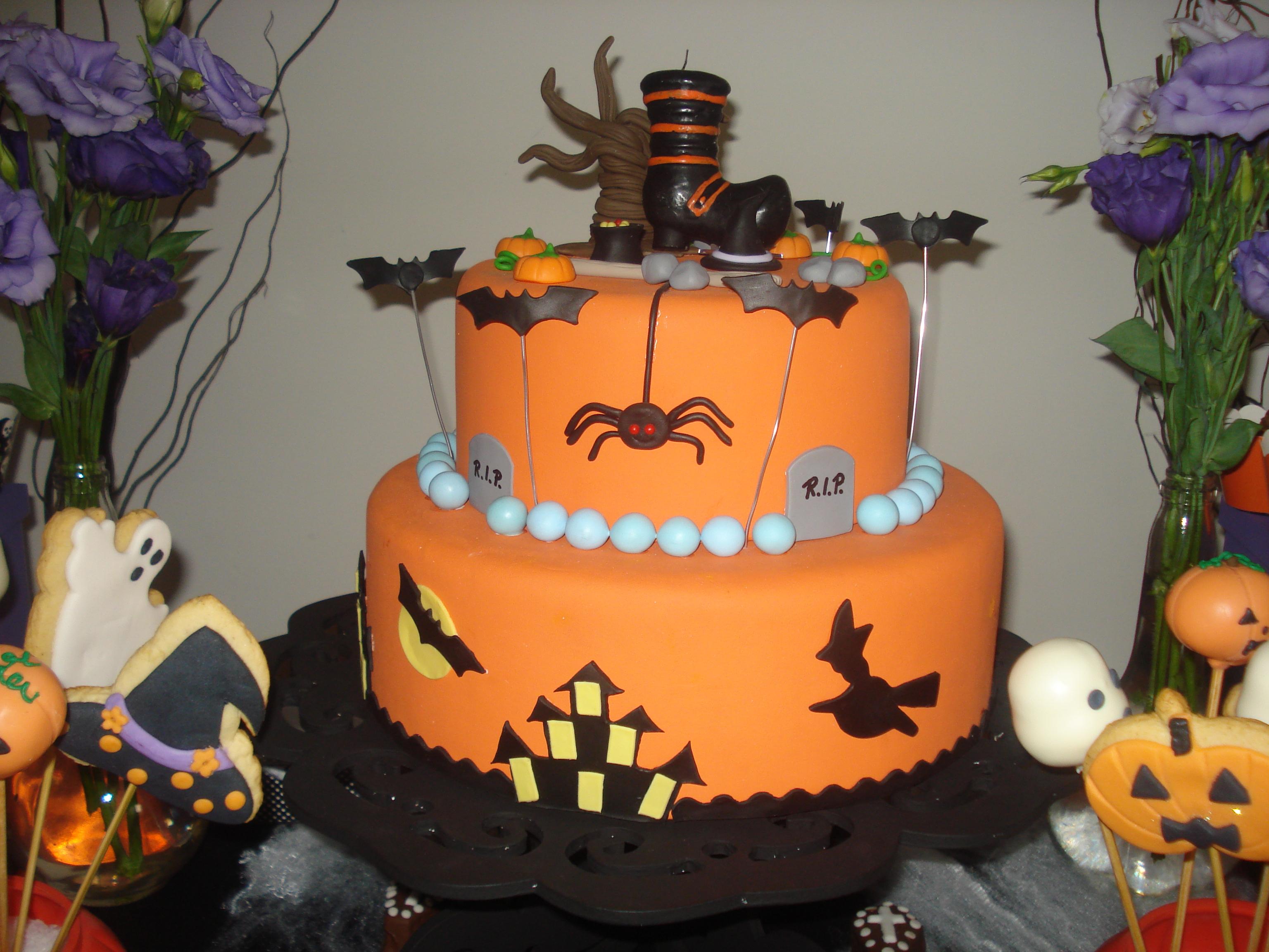 Aluguel Decoraç u00e3o Festa Halloween Blue Pink Elo7 -> Decoração De Festas De Halloween