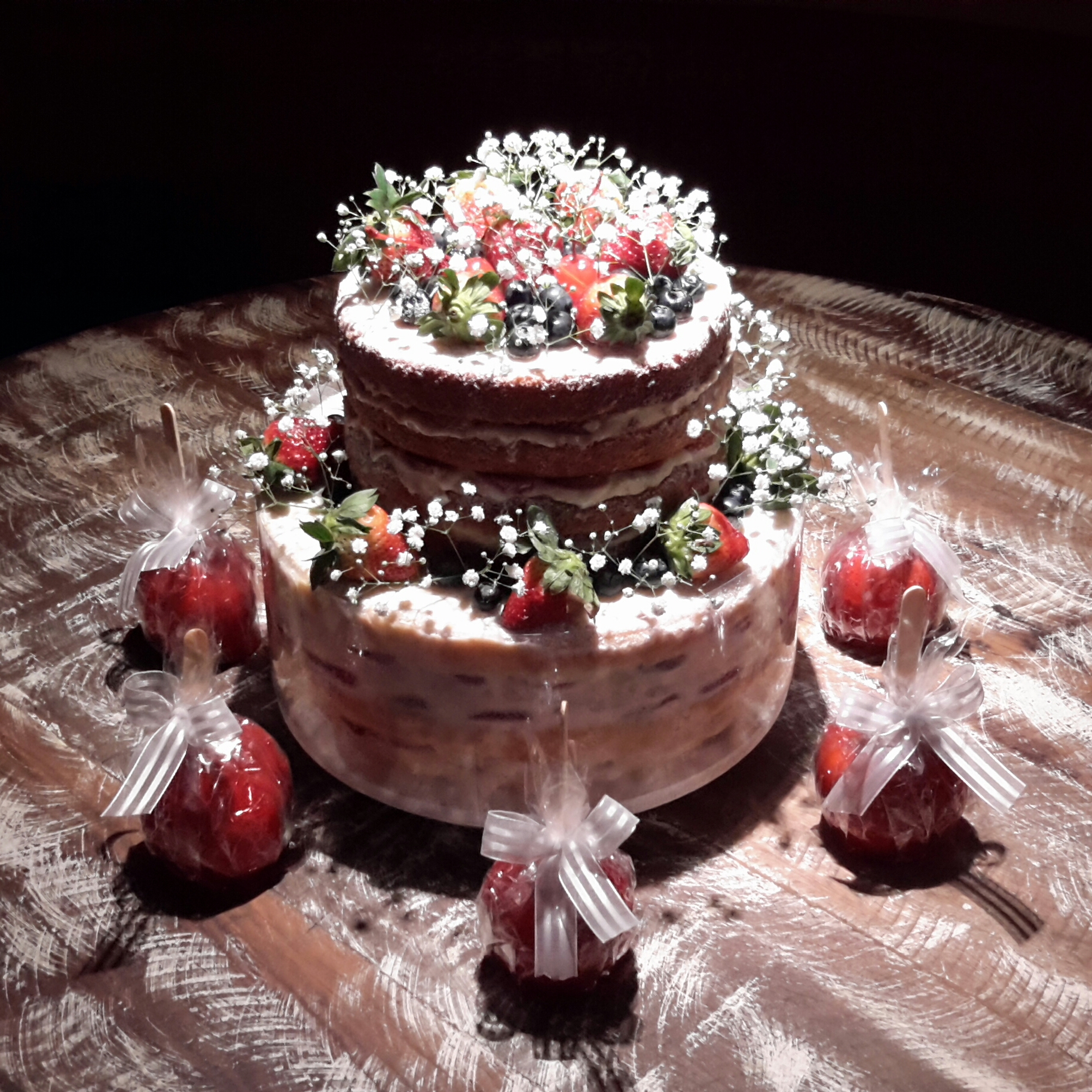 Naked Cakes - Amor a Cakes