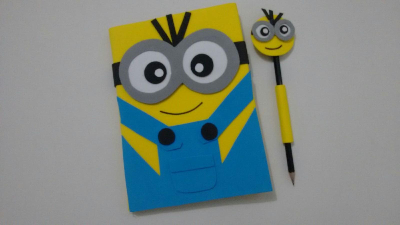 Caderno De Desenho Minions No Elo7 Joao Maria 5cc5a7