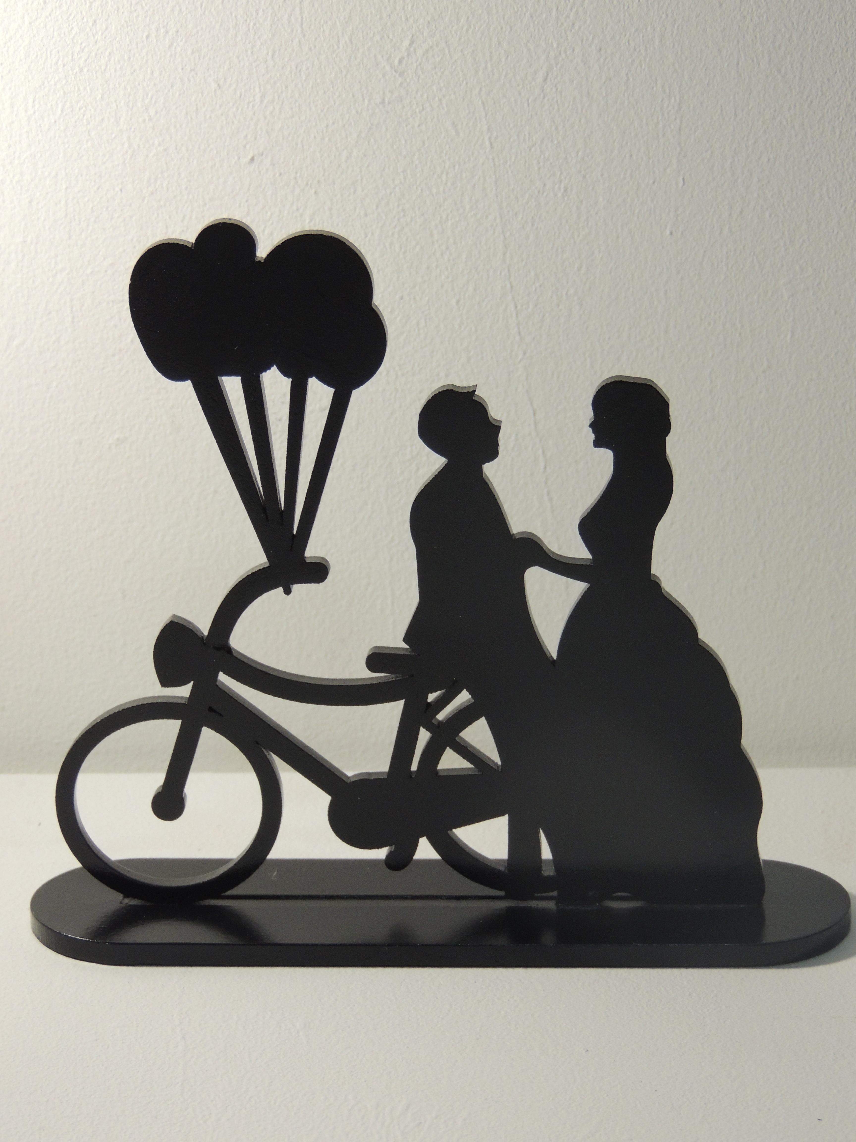 topo de bolo com bicicleta elo7