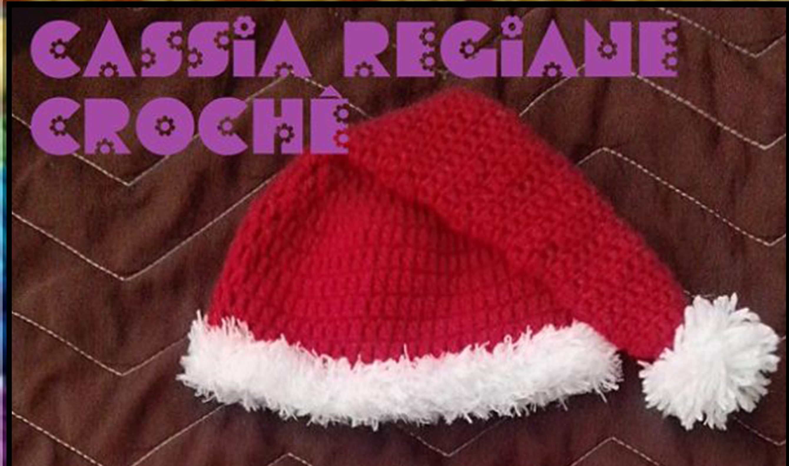 Jardineira e Touca Croche Papai Noel  aceec522f11