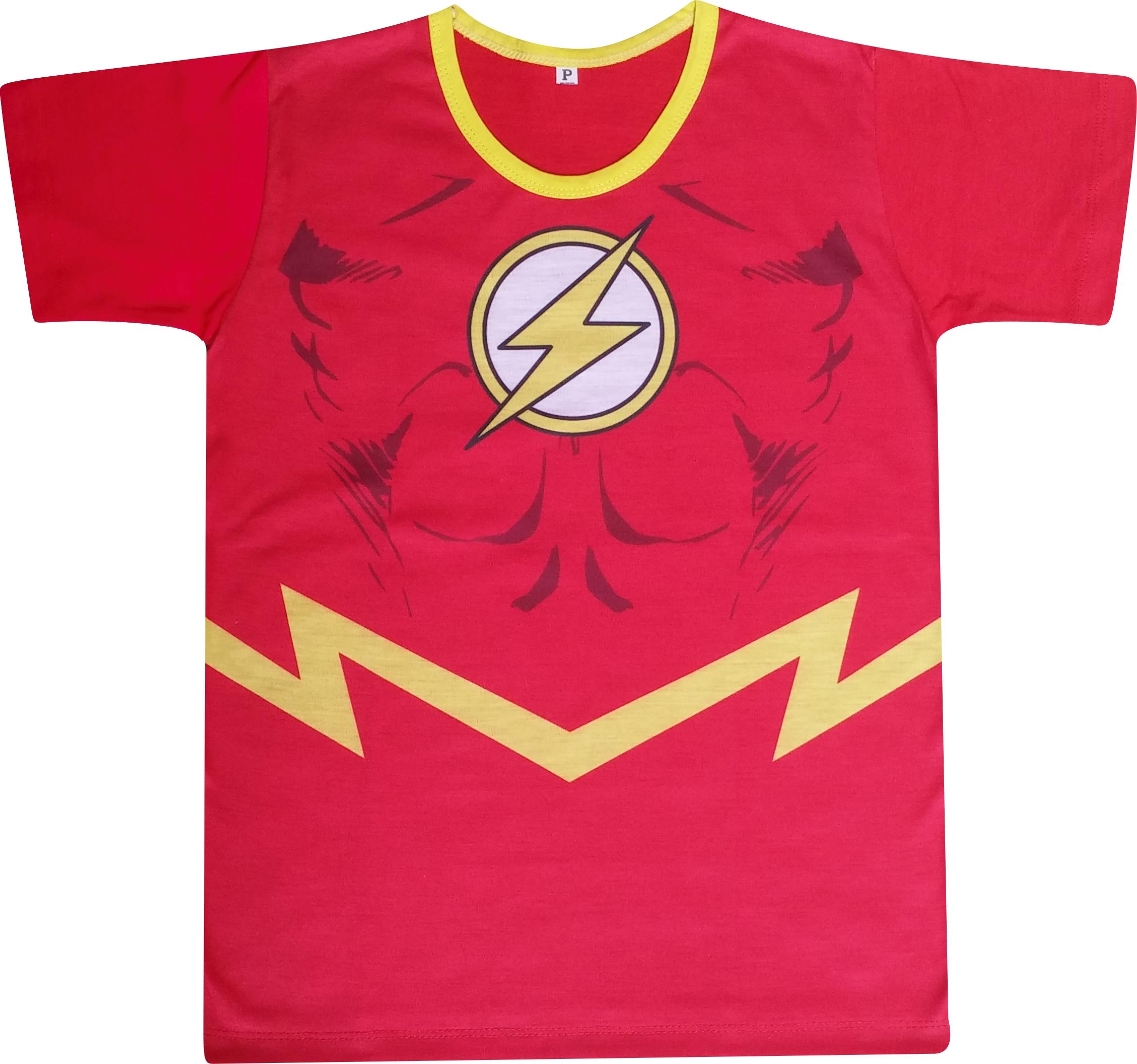 89fb5d6c0f Camiseta Flash Camisa Algodao | Elo7