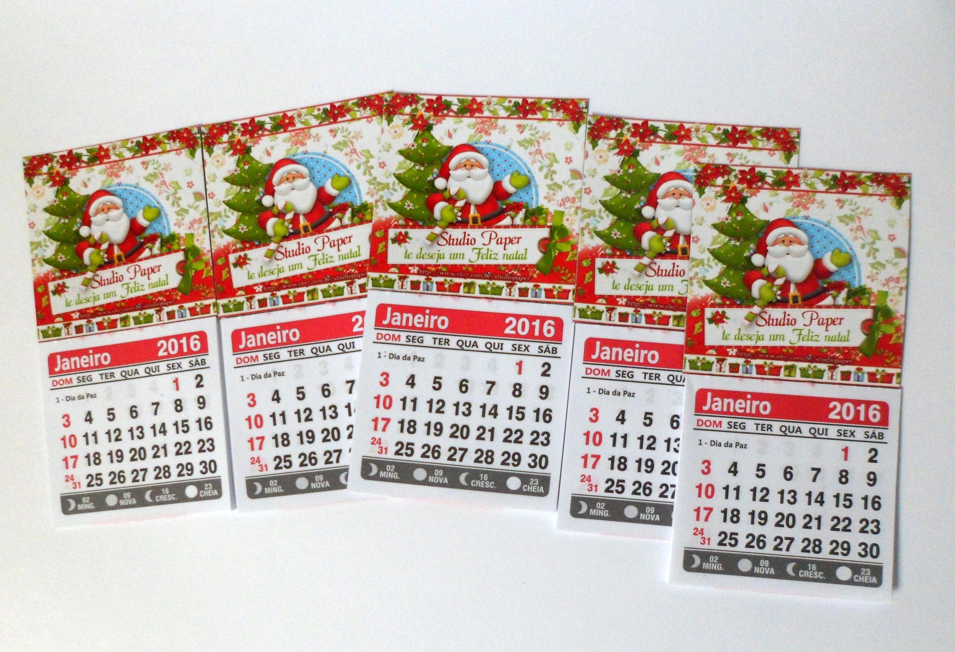Mini Calendario.Mini Calendario Com Ima Ano 2018