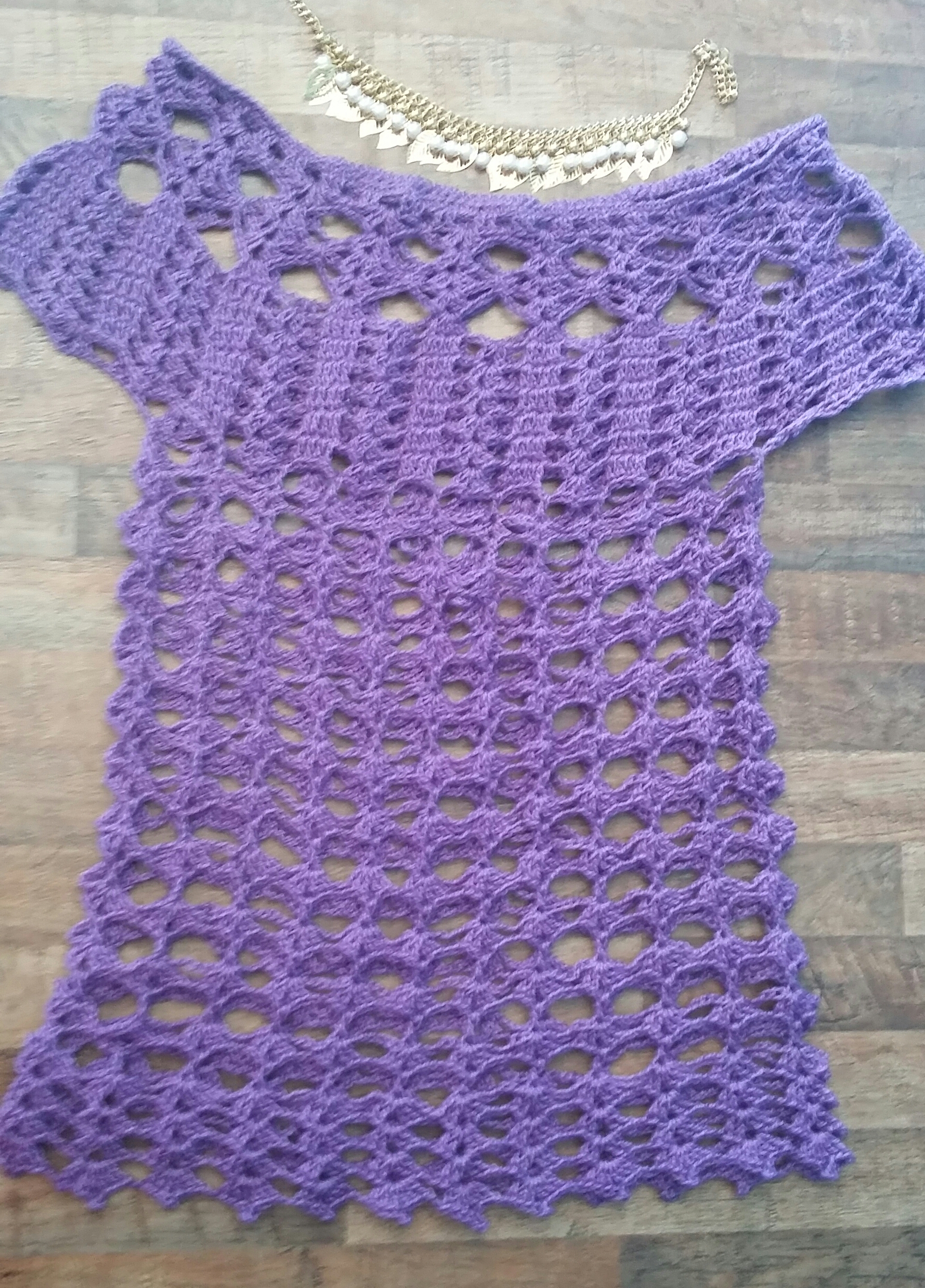 blusa croche crochetandocm elo7