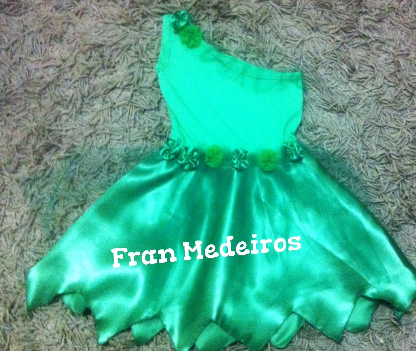 Modelos de vestidos de tinkerbell