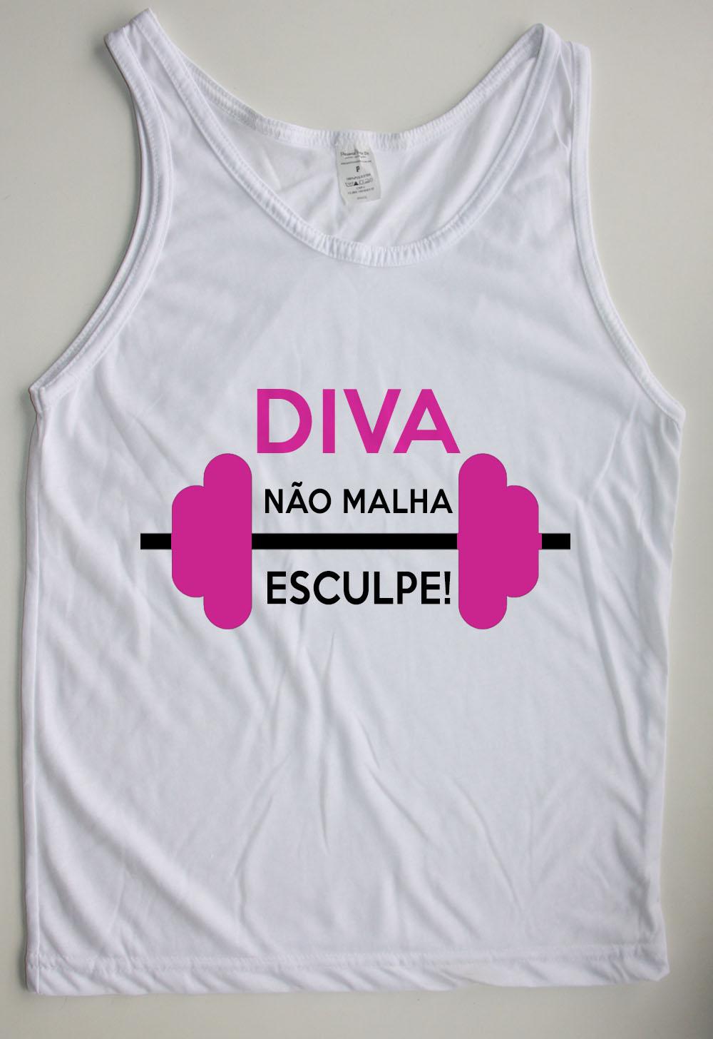 b4846b2f16 Regata Feminina - Diva não malha no Elo7
