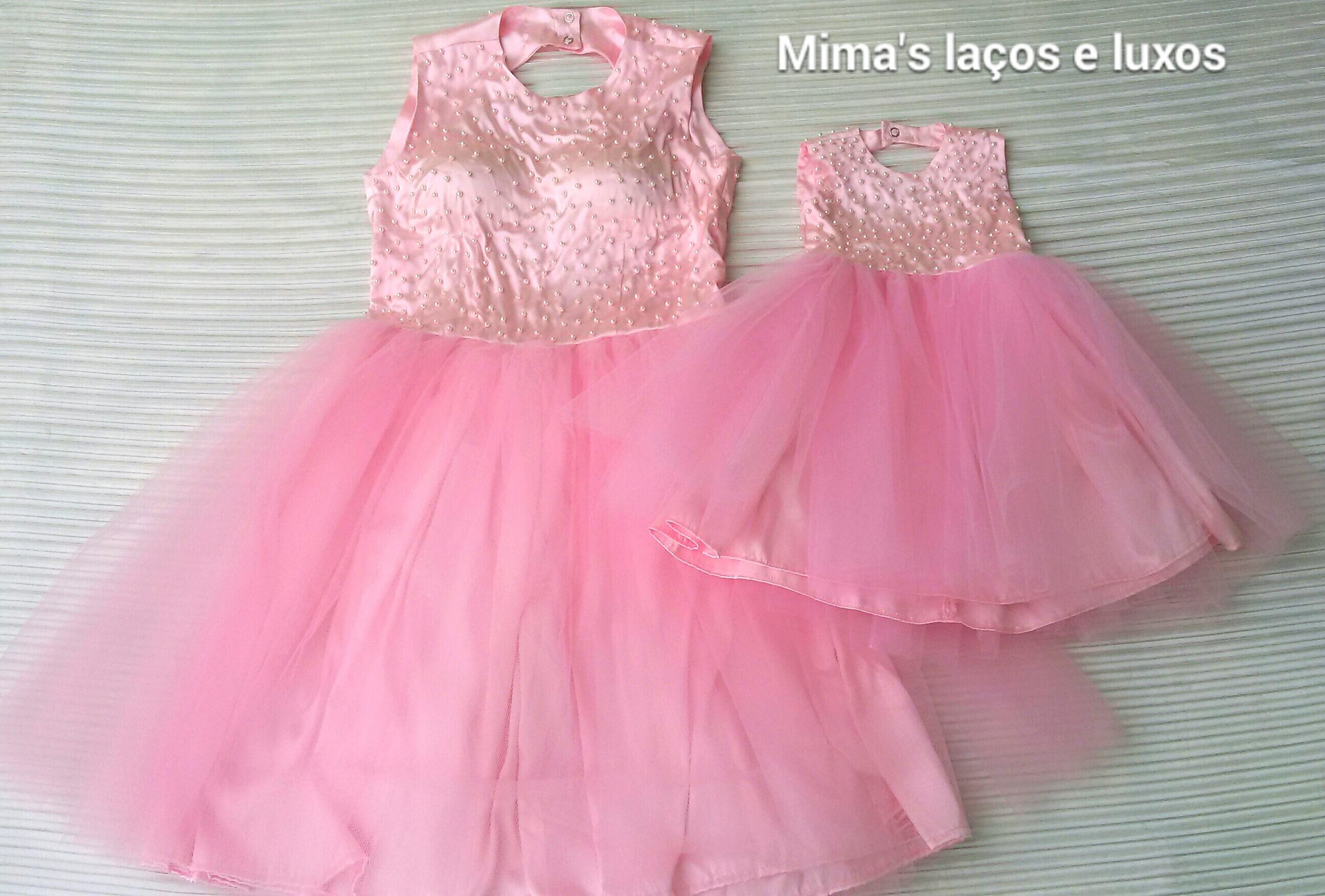 09abc05349 Vestido tutu mãe e filha no Elo7