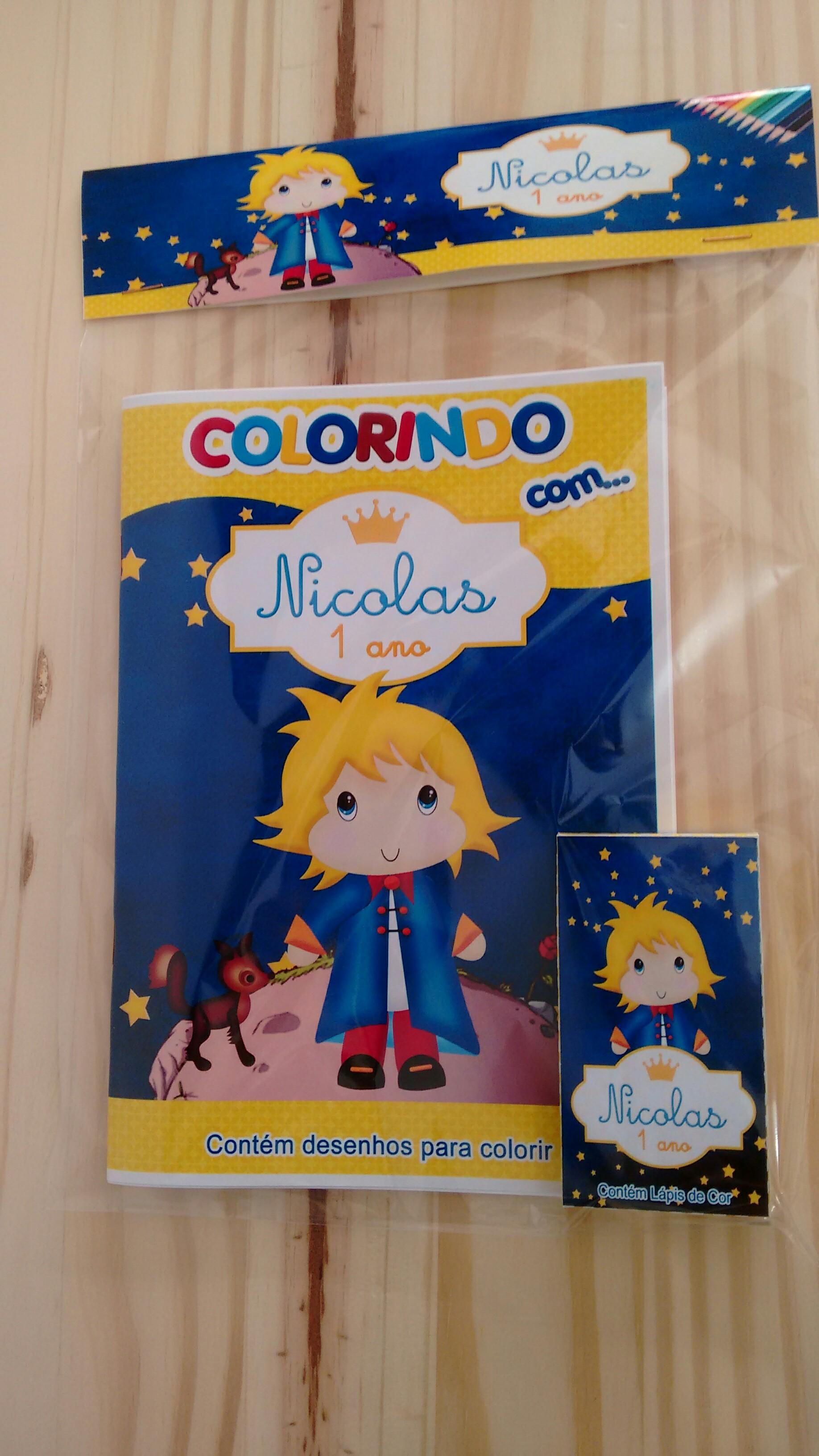 Livro De Colorir Personalizados No Elo7 Lembrartes