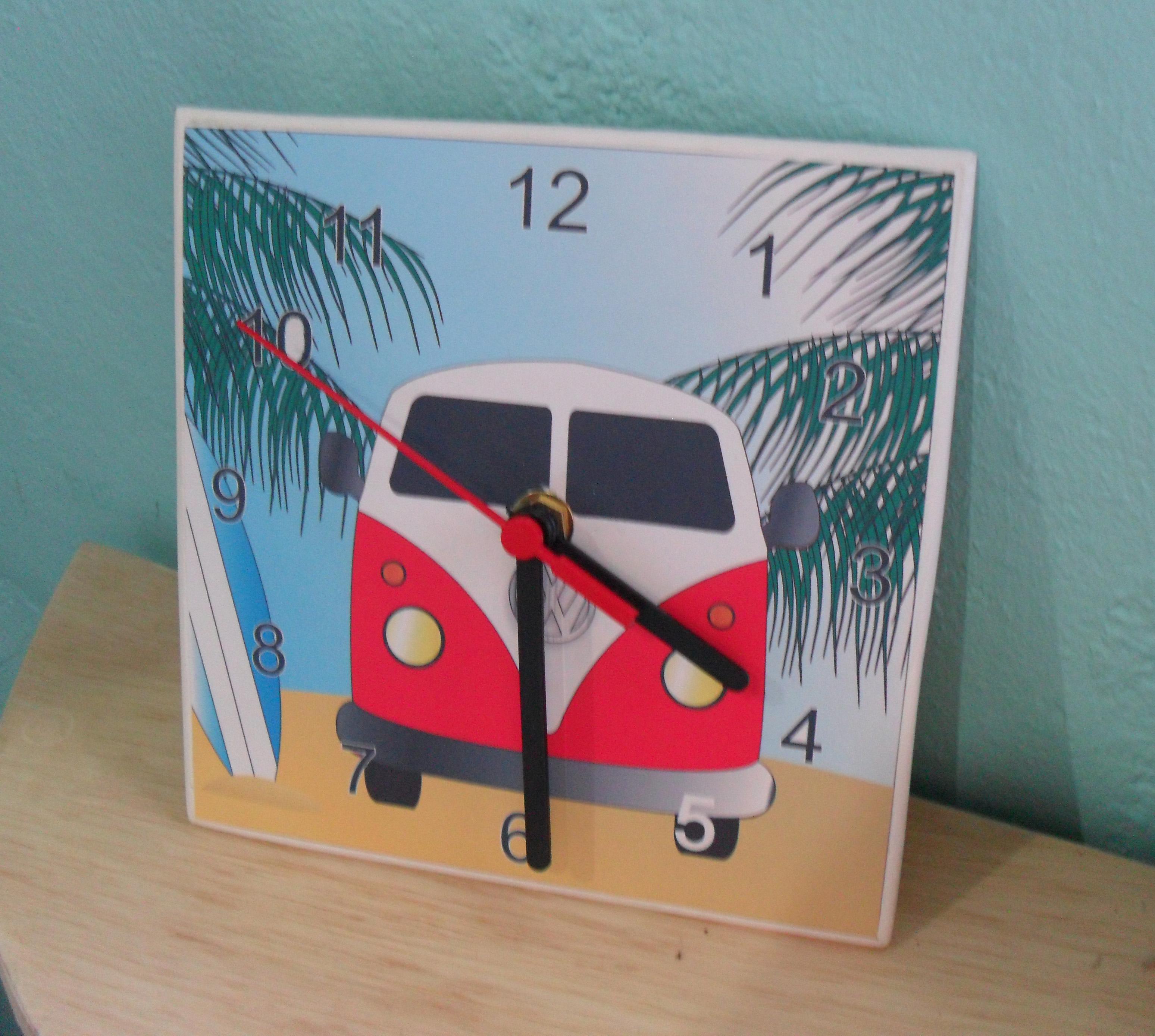 d8bda1d470d Relogio kombi Surf no Elo7