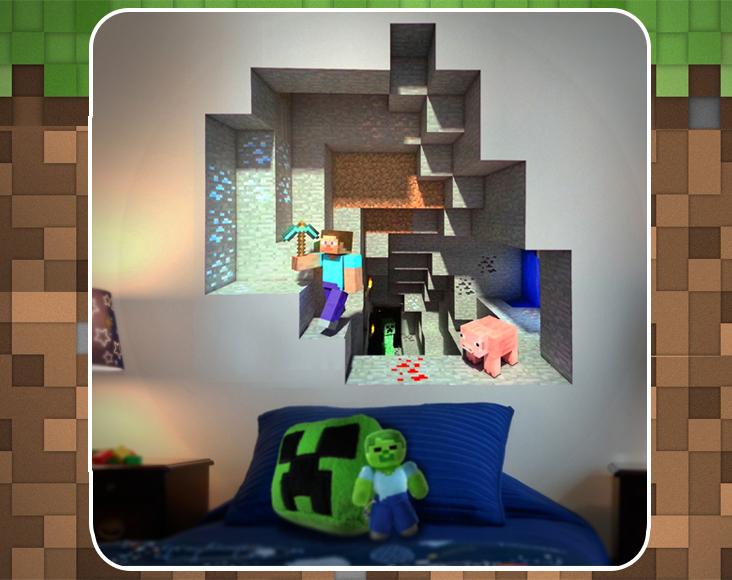 Artesanato Lider ~ Papel De Parede Para Quarto Do Minecraft ~ Yazzic com Obtenha uma coleç u00e3o de imagens do quarto