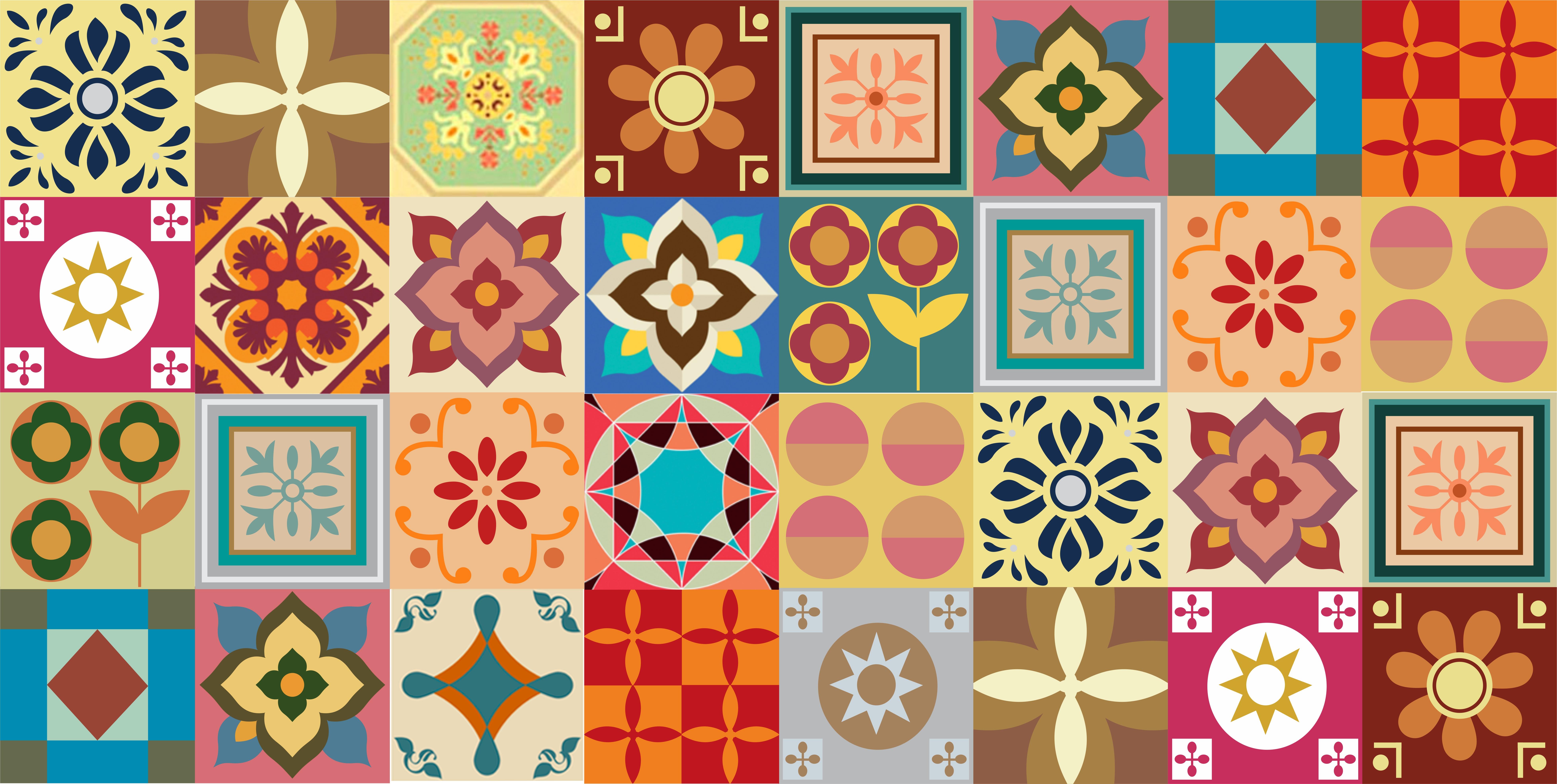 Adesivo de parede azulejos 14 wall magic adesivos elo7 for Papel adhesivo para azulejos