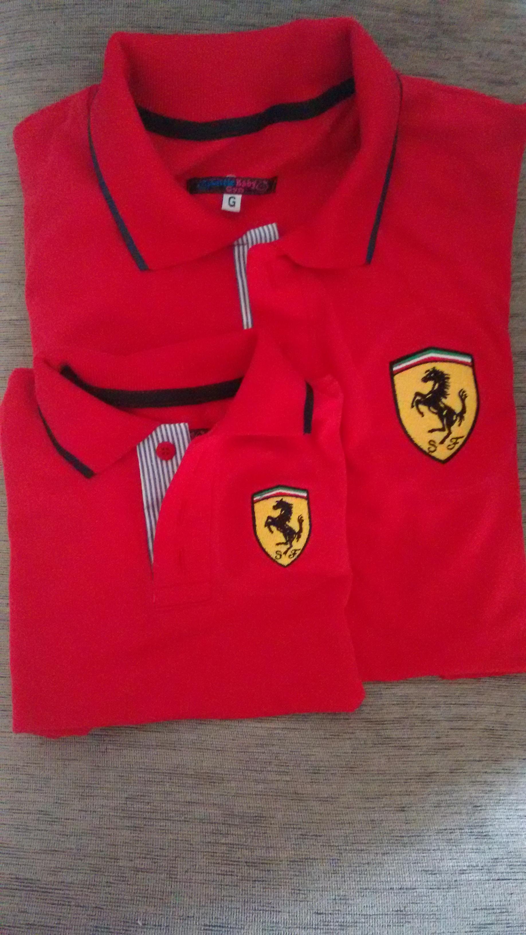 Camisa da Ferrari  0d6e2fecd054f