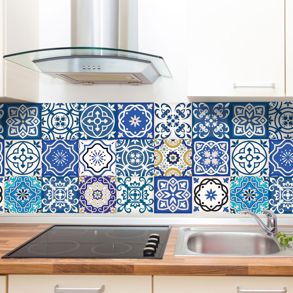 Armario Mdf Quarto ~ Adesivo de Azulejo Portugu u00eas Printme com br Elo7