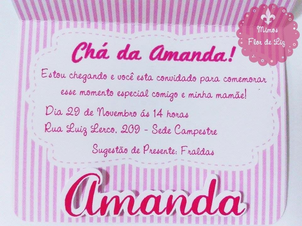 Convite Chá De Bebê Ursa Princesa No Elo7 Mimos Flor De Liz 5f2470