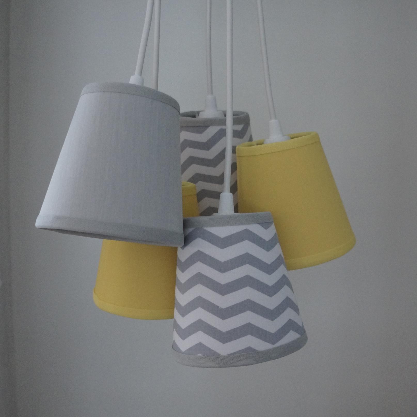 lustre pendente beb chevron crie casa decoracao elo7. Black Bedroom Furniture Sets. Home Design Ideas