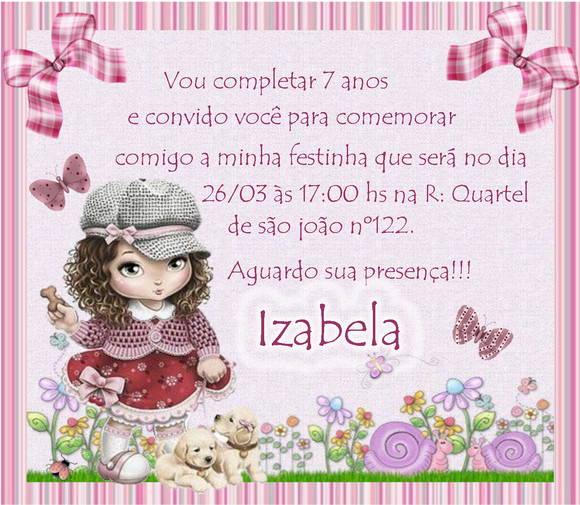 Convite Infantil Com Envelope 10 X 7 No Elo7 Sonhomeu 5f6e9b
