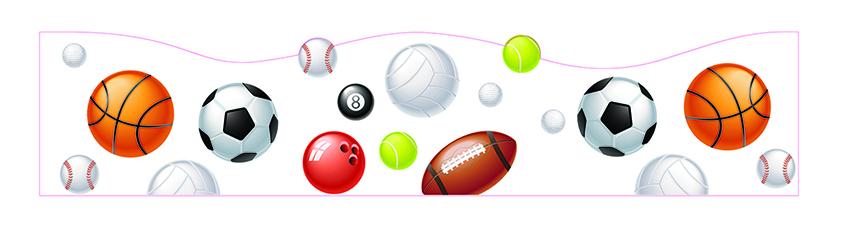 29136a41d2 Faixa de Parede Bola de Futebol