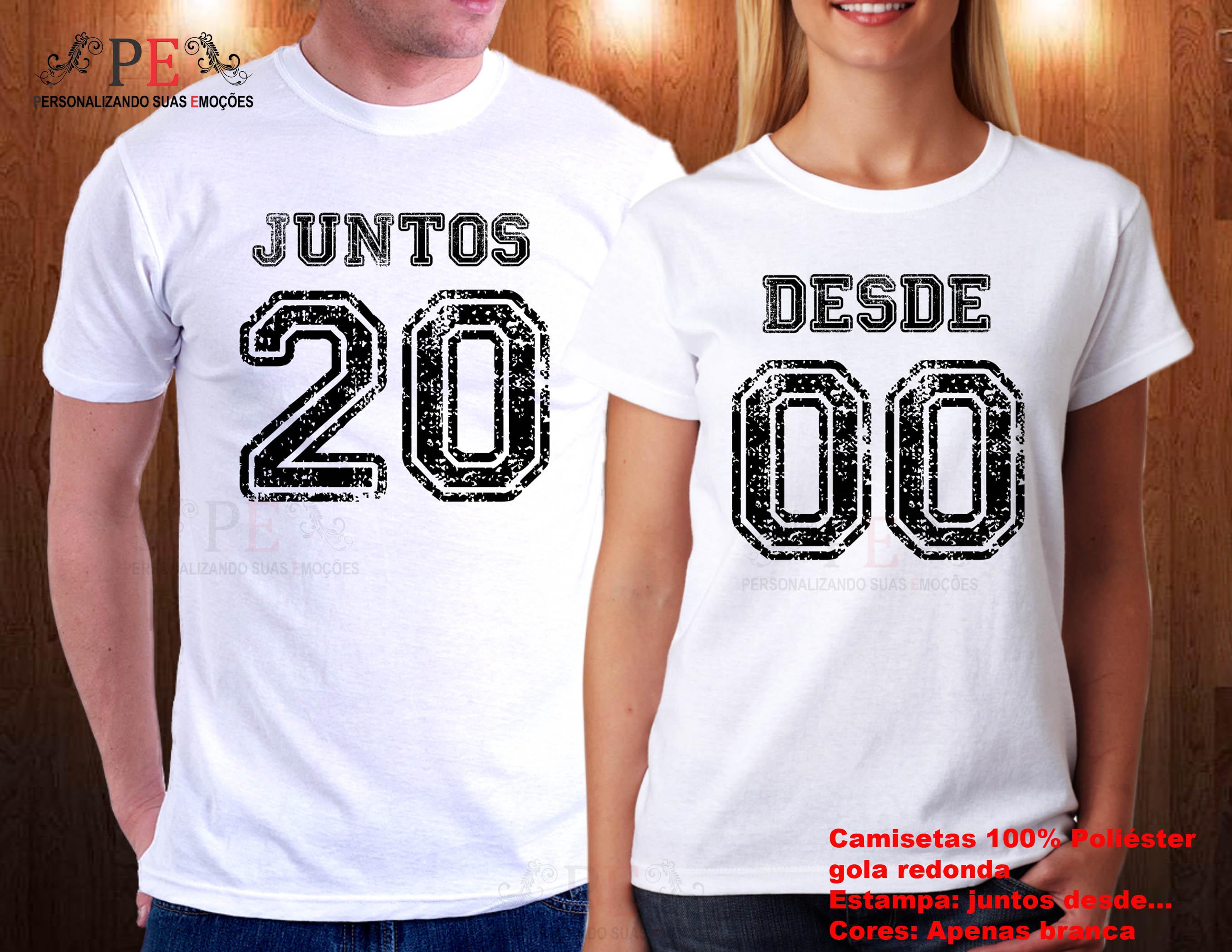 340444a2e Camisetas Juntos Desde 2015