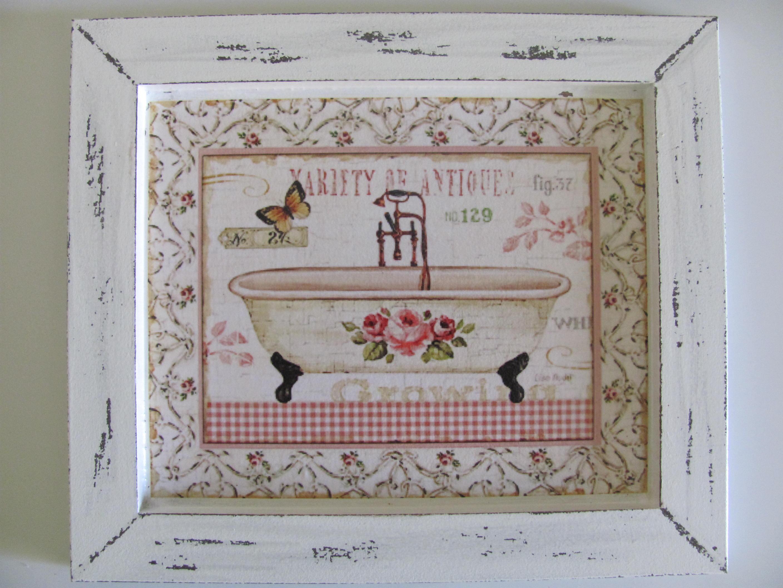 para banheiro casa dupla de quadros vintage para banheiro retangular #734640 2816 2112