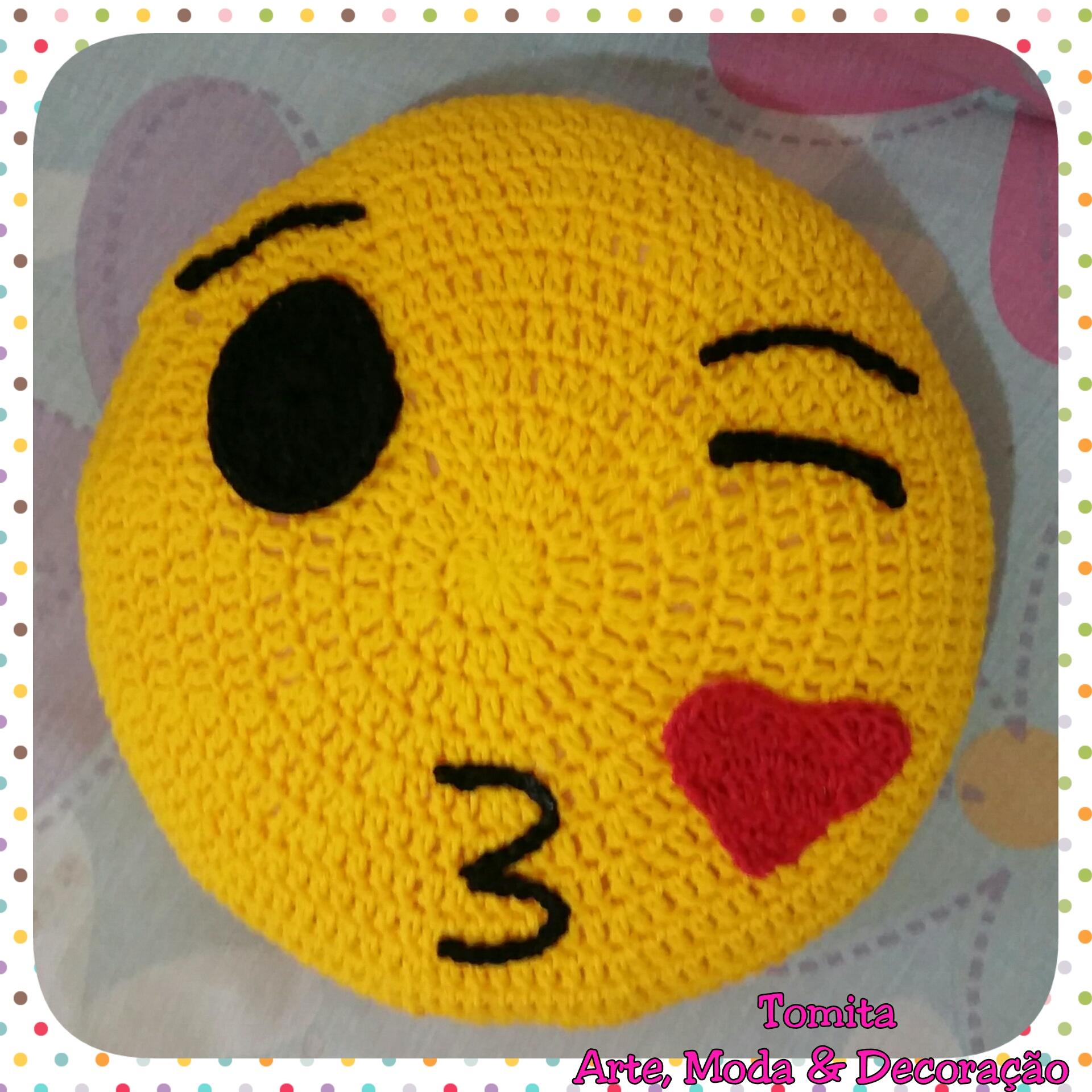Emoji Croche   Elo7 94e5baa130