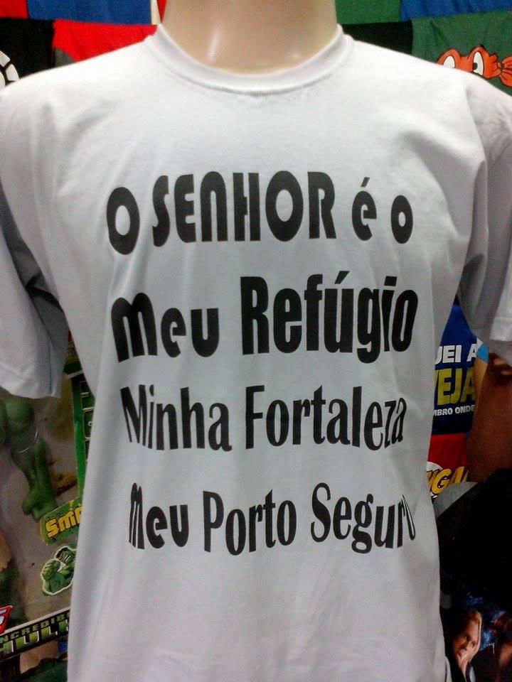 9c80c779e6950 Camiseta Camisa Gospel Frases