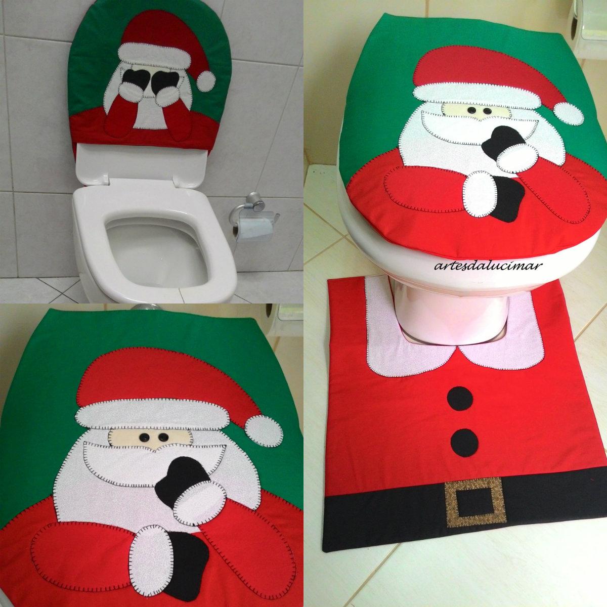 Tapete Natal Papai Noel Tapando Olhos