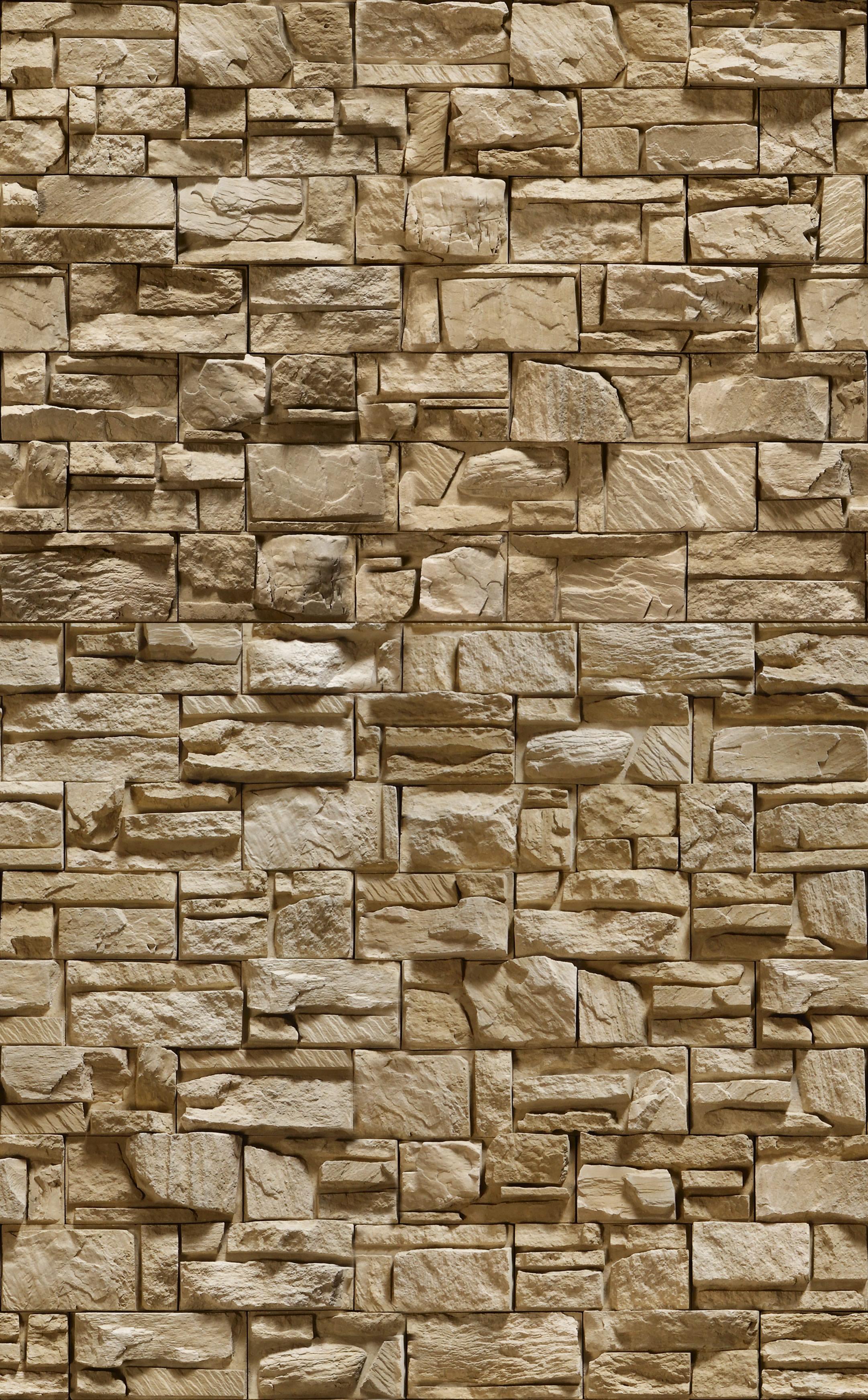 Stone Elevation Images : Papel de parede pedra canjiquinha crie decore elo